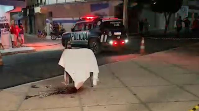 Quiteriense é executada a tiros em praça pública de Croatá