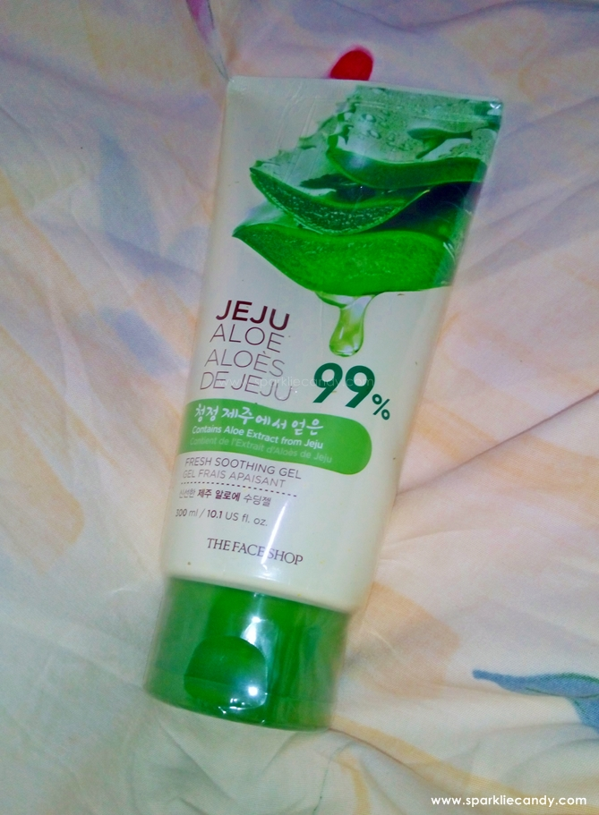 My Name is Chien: Review: THEFACESHOP Jeju Aloe Fresh
