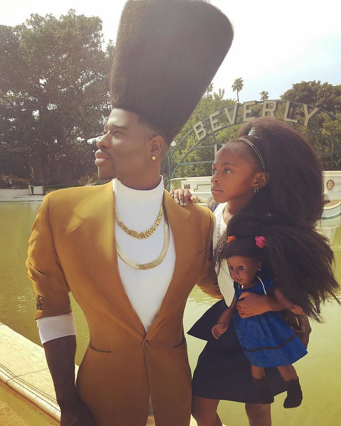 Father & Daughter Duo Takes Over The Internet With Their Natural Hairdos - 'I put my child on a pedestal. What my daughter knows is that if she loves herself first, love will align in her friendships, relationships, and all aspects of her life'