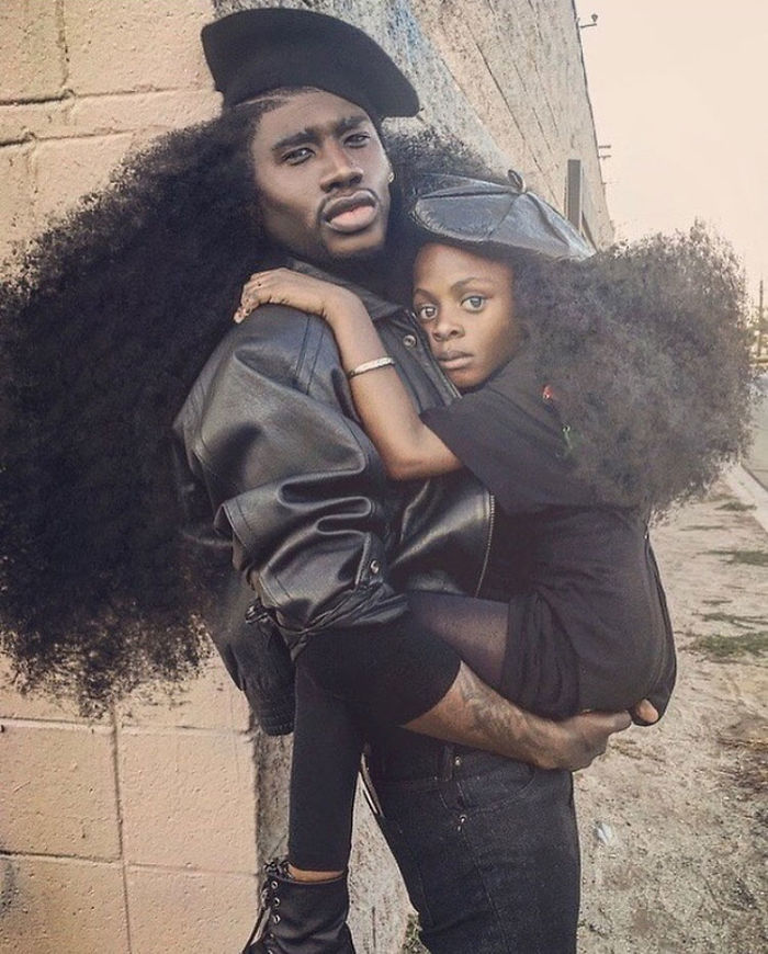 Father & Daughter Duo Takes Over The Internet With Their Natural Hairdos - 'Fatherhood is a miracle and an honor'
