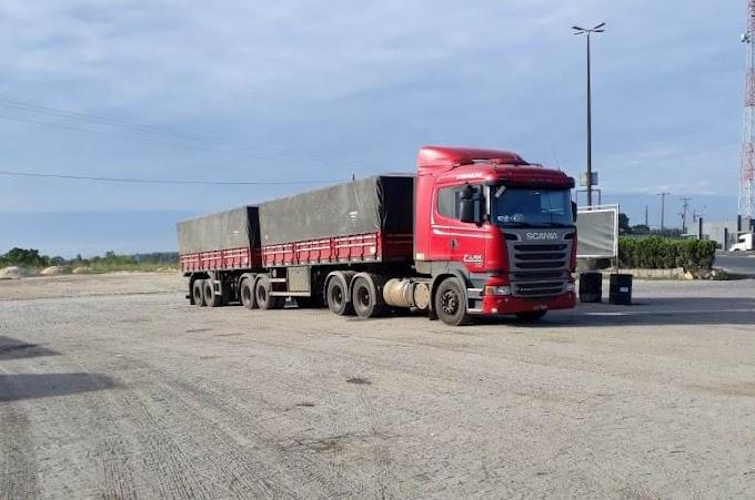 Caminhão e bitrem do Virmond foi roubado em Palmeira