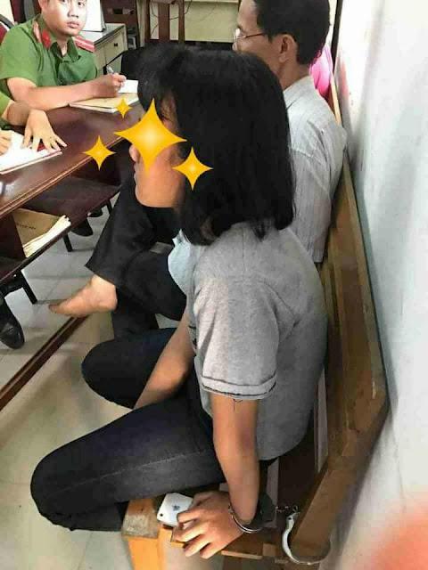 Thông não vụ còng tay con bé ở Vũng Tàu tuổi mới 13 mùa rươi nổi.