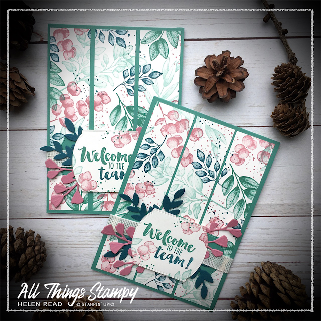 Forever Greenery Stampin up One Sheet Wonder allthingsstampy
