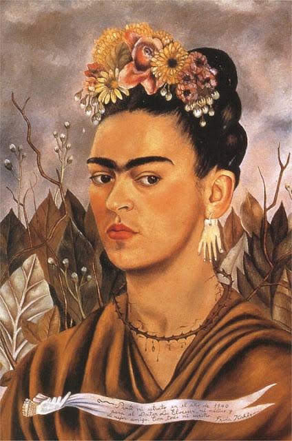 Фрида Кало - Автопортрет посвященный Доктору Элоессеру. 1940