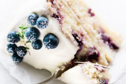 BLUEBERRY LEMON LAYER CAKE RECIPE