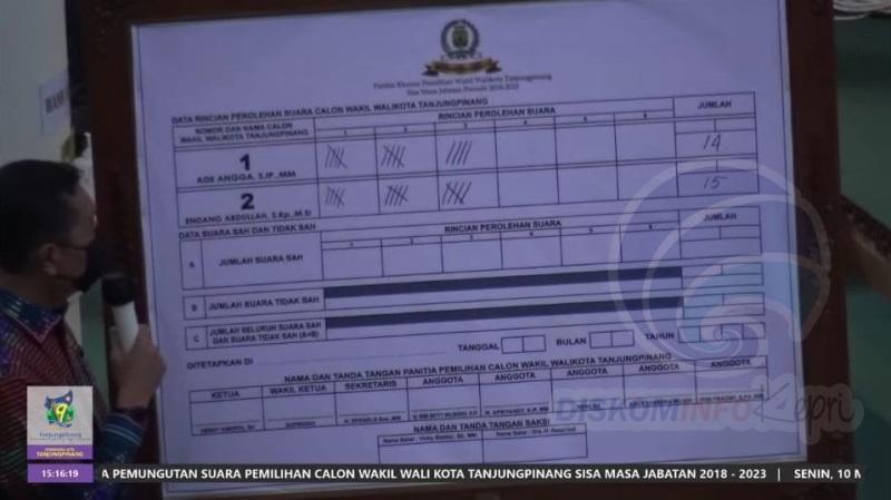 Endang Abdullah Gagal di Legislatif, Terpilih jadi Wakil Wali Kota Tanjungpinang