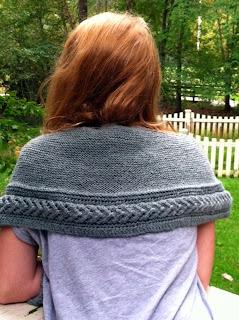 knitting pattern dry falls shawl shawlette