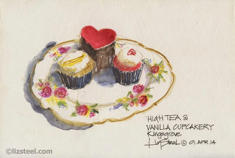 Sketch The Cake Workshop with Rockdale Council : Liz Steel