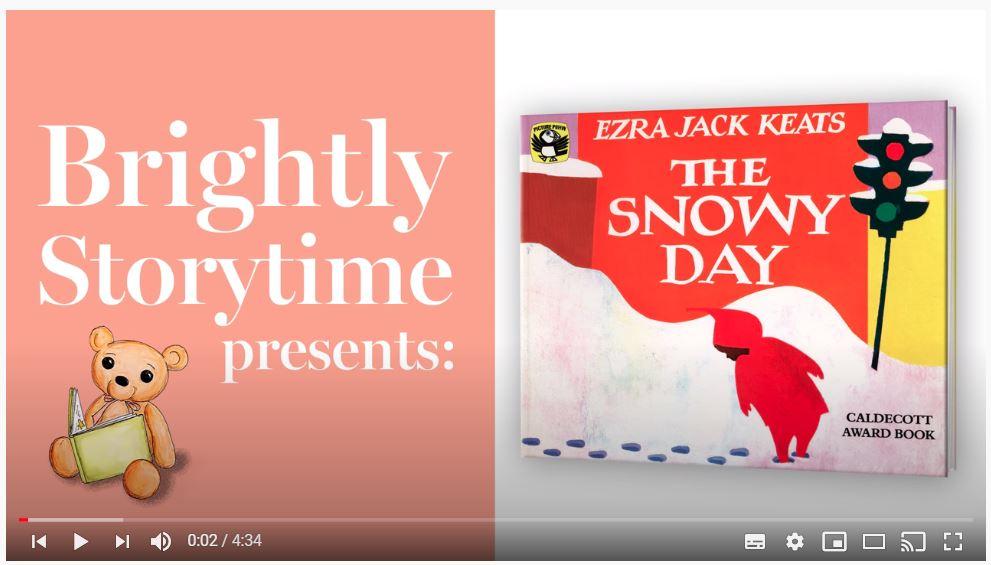 [免費優質英文繪本說故事頻道] Brightly Storytime (和知名出版商 Penguin Random House 為正式合作夥伴) YouTube 頻道