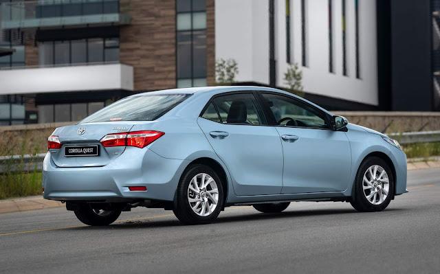 Novo Toyota Corolla Quest 2020