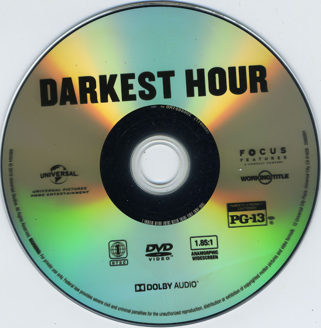 Darkest Hour DVD Label