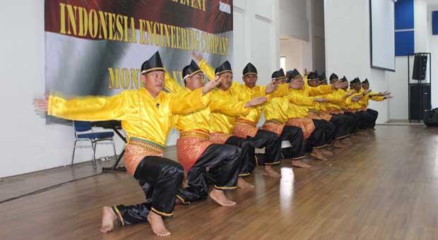 Pasukan Garuda Misi PBB Gelar Pagelaran Budaya