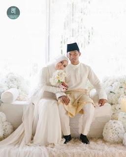 Foto Mia ahmad nikah dengan Izham Tarmizi