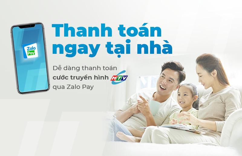 Hướng dẫn thanh toán cước Truyền hình cáp HTVC trên Zalo Pay