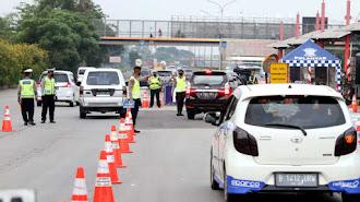 Mendekati 20 Ribu,Kendaraan Ditolak Masuk Jakarta