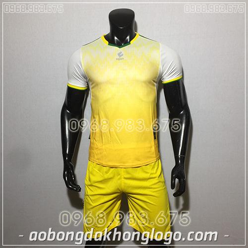 Áo bóng đá ko logo Egan Cli màu vàng
