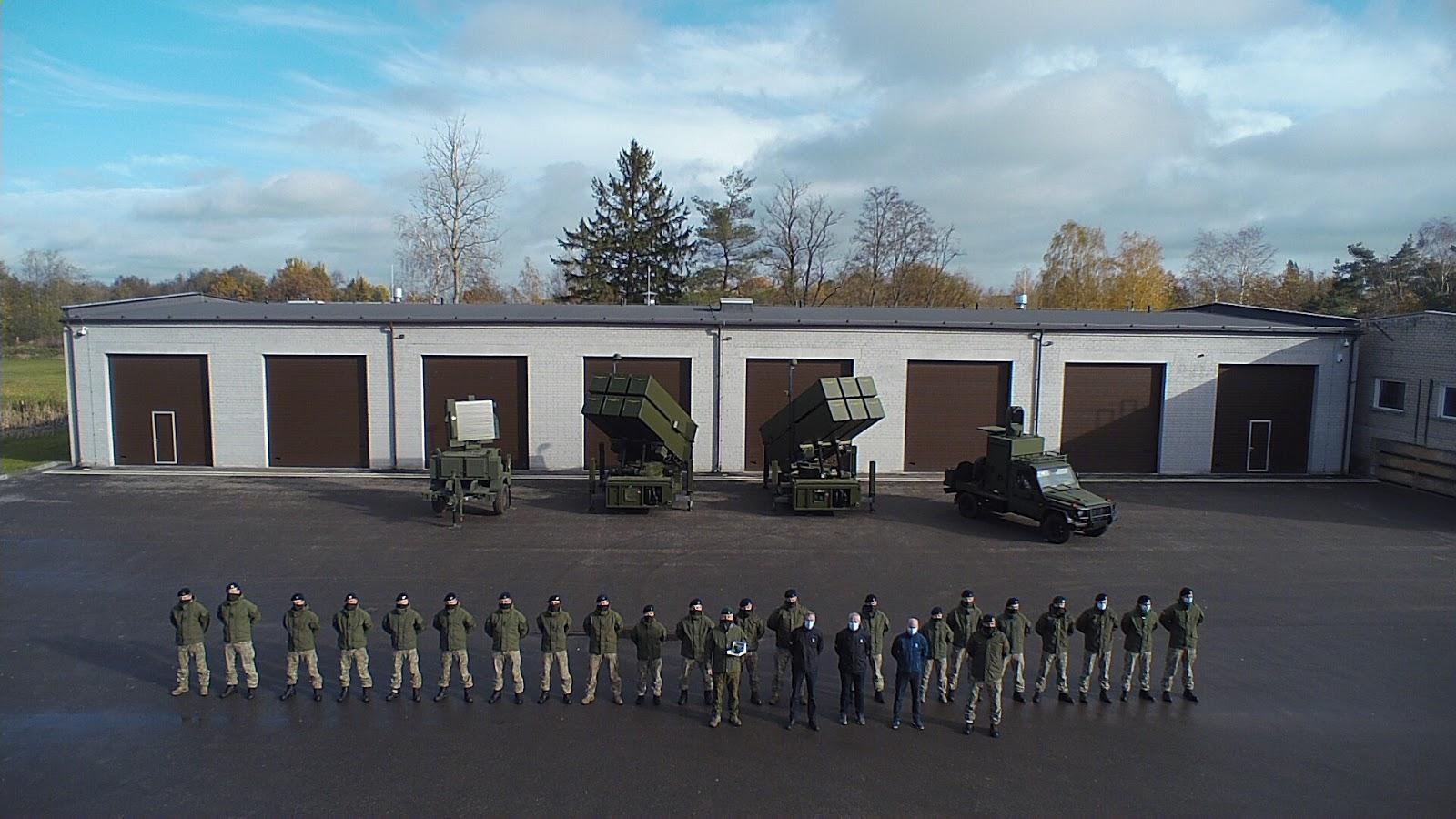 Kongsberg офіційно передала литовській армії ЗРК NASAMS
