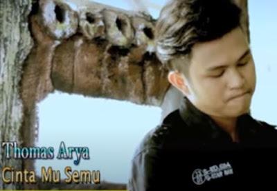 Lirik Lagu Pof Malaysia Thomas Arya - Cintamu Semu