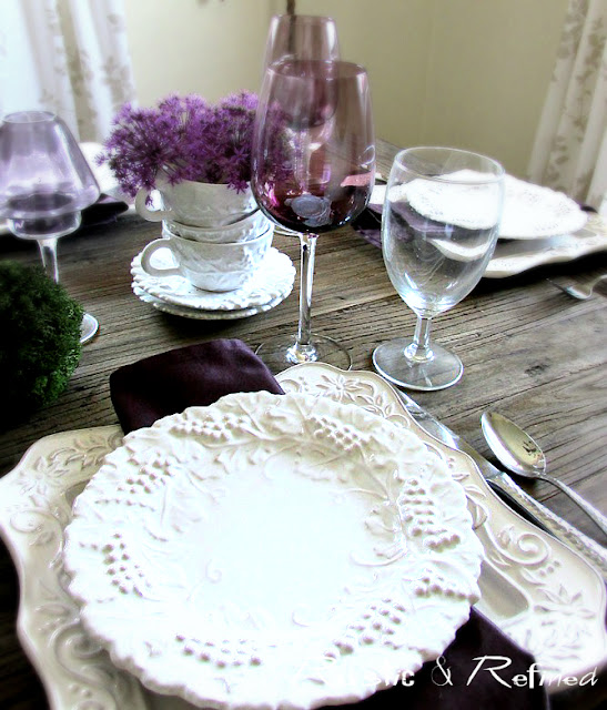 Entertaining Ideas for the dinner table