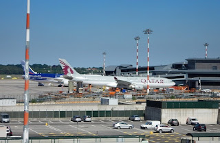 Milan's Malpensa airport is the second busiest in Italy in terms of passenger numbers