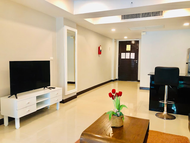 Patong Harbor View Unit C 102 Living Room