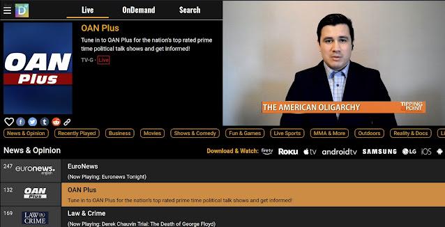 DistroTV (Estados Unidos) | Captura de Pantalla
