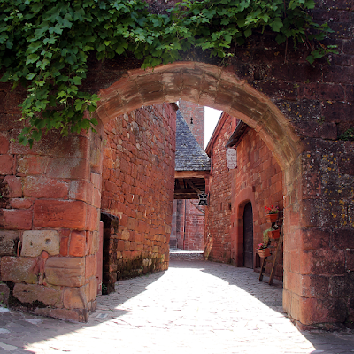 View through the 15th century gate.