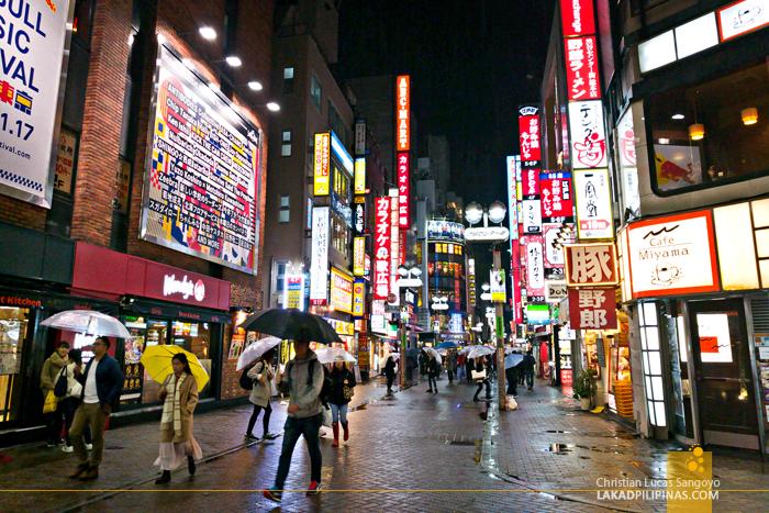 Tokyo Japan Evening