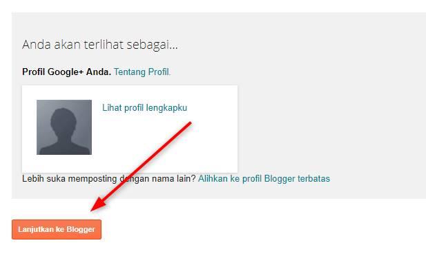 Cara Membuat Blog Gratis di Blogger Dengan Mudah Dan Cepat - Cara Membuat Blog di Blogger 1