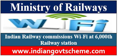 Indian Railway commissions Wi-Fi