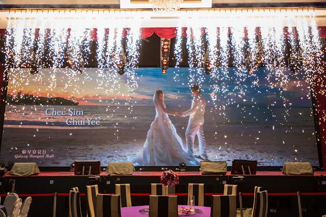 Heart Shaped Bubbles Wedding
