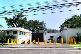 USA ambassador's house in Escazu, Costa Rica