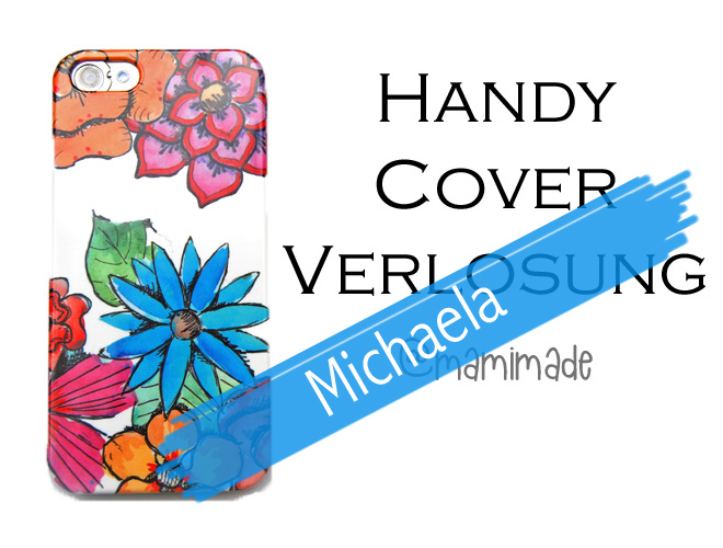 Handy Cover iPhone bunt Blumen flower Power