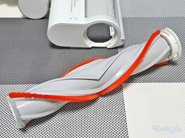 【MI 小米】米家無線吸塵器 G9 (白色) 開箱_高扭力地刷刷毛