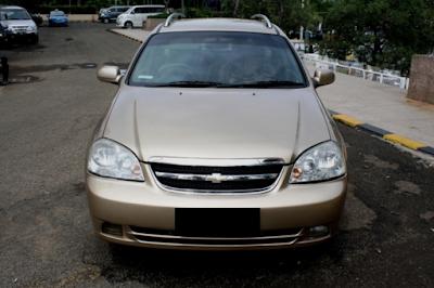 Eksterior Chevrolet Estate Tampak Depan