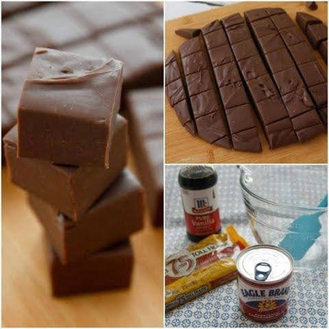 3 Minute Fudge – You Won't Believe Something This Easy Could Turn Out So Delicious