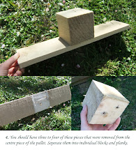 Make Strawberry Pallet Planter - Lovely Greens
