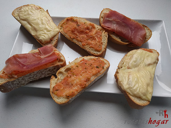 Receta del pan tumaca a mi estilo