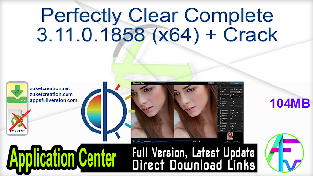 Perfectly Clear Complete 3.11.0.1858 (x64) + Crack