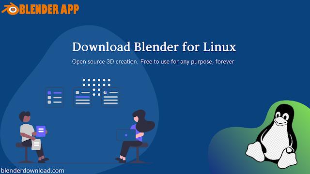 Download Blender for Linux
