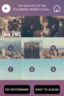 Tutorial Membuat Foto Grid Menyambung di Instagram 8