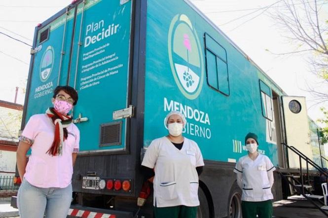 San Rafael: la Unidad Sanitaria Móvil Ginecomamaria brindará atención en distintos puntos del departamento