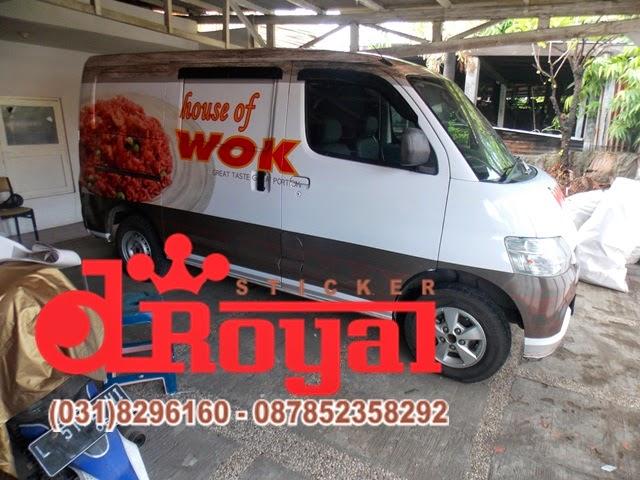 car branding grandmax surabaya