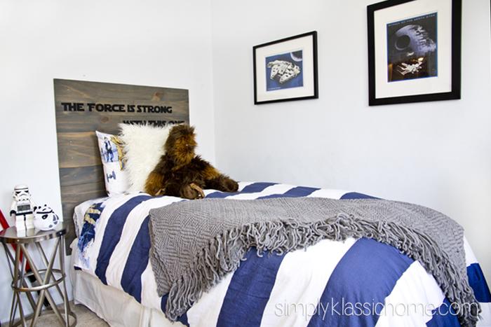 Boy S Star Wars Bedroom Makeover Reveal