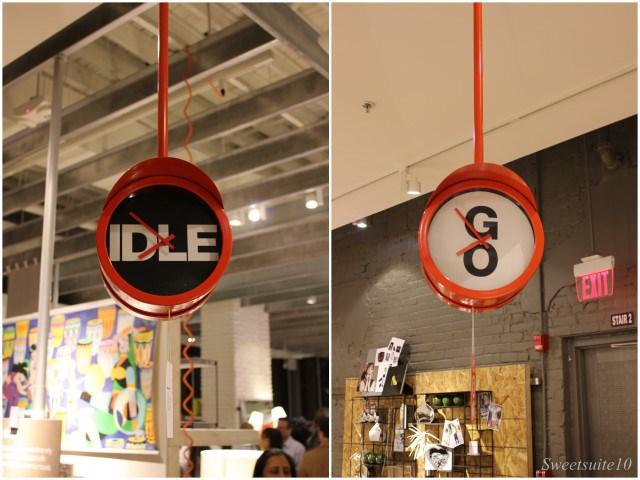 CB2 - Idle/Go clock