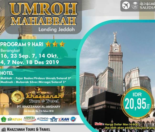 Promo Umroh Desember 2019