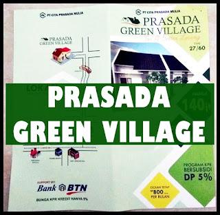 Rumah Siap Bangun Hanya 140juta-an [Prasada Green Village]