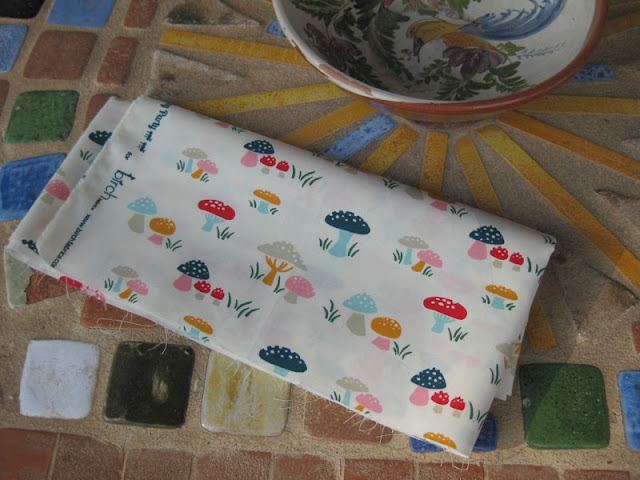 Mushrooms fabrics
