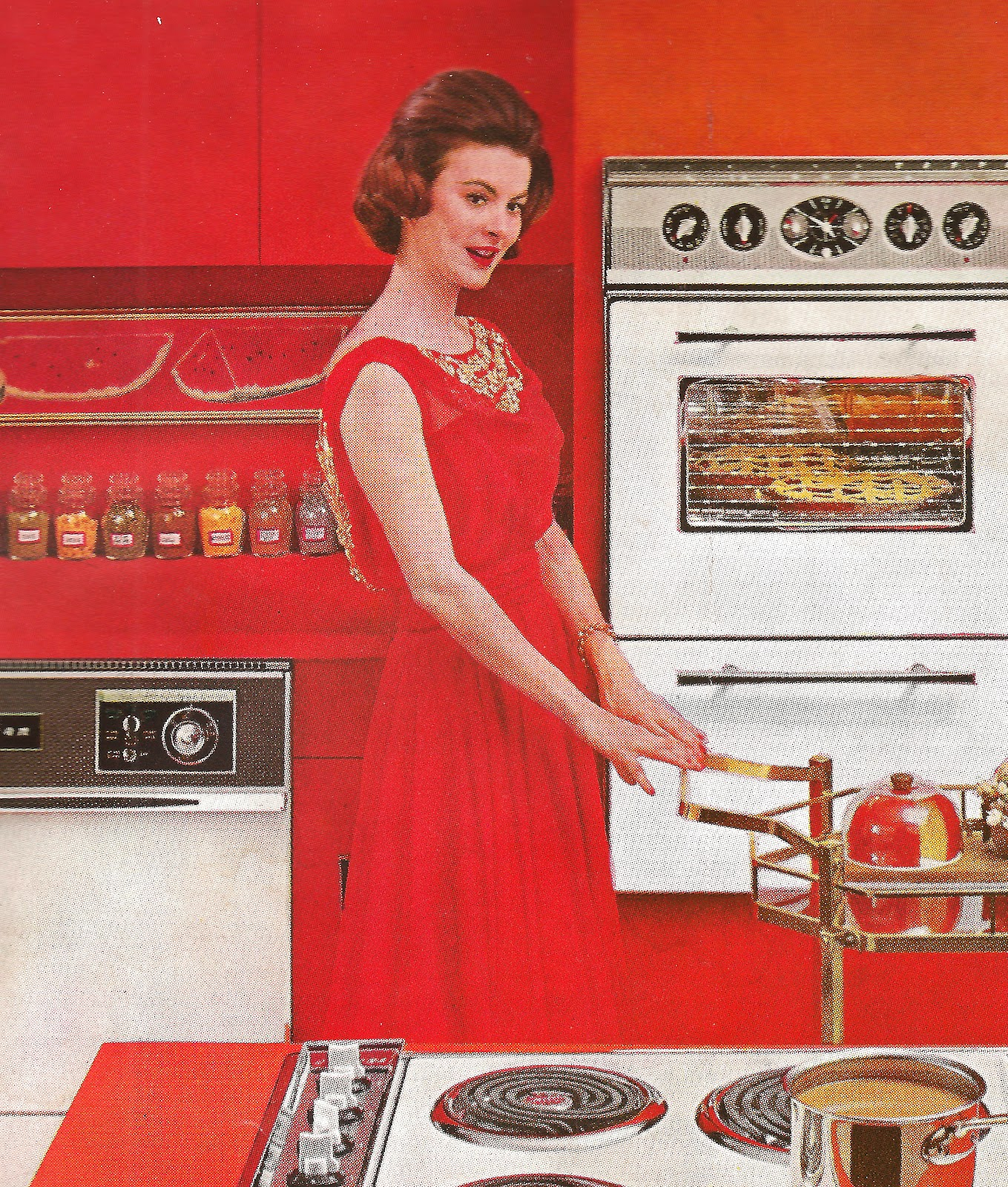 Retro Kitchen Ad This kitchen is the mostRetro Kitchen Ad