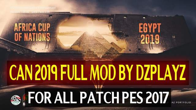 PES2017 CAN 2019 Mod (Full) by DZPLAYZ For All Patches